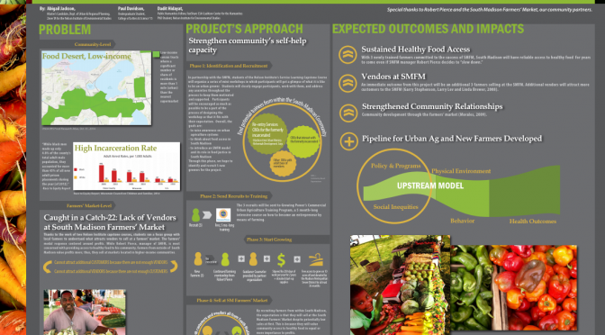 Infographic on South Madison Food Justice Project